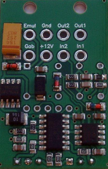 Двухканальный индикатор показаний лямбда-зонд c функцией эмулятора. ( Остатки , Снято с производства.
