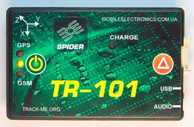 мониторинг транспорта GPS трекер Spider TR-101