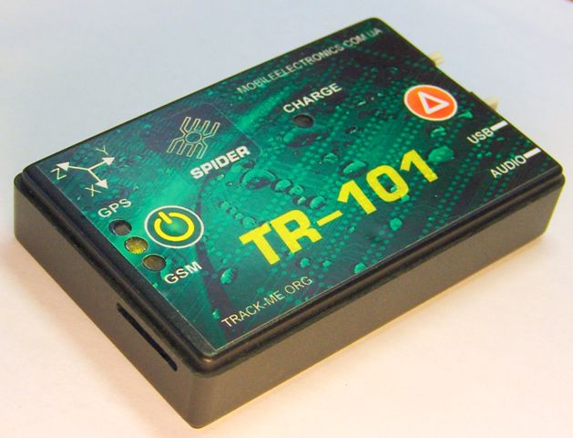 мониторинг транспорта учет топлива трекер Spider TR-101
