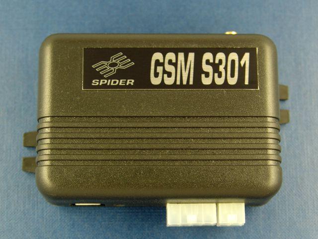 GSM сигнализация Spider S301 установка